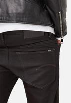 G-Star RAW - 3301 Slim - Raw Black Edington Stretch Denim