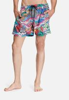 The Lot - Surf's up swim shorts