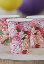 Ginger Ray - Floral paper cups