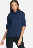 dailyfriday - Split back shirt