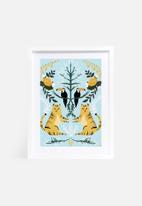 Amalia Restrepo - Lions and tucans