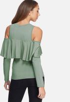 dailyfriday - Ruffle knit top