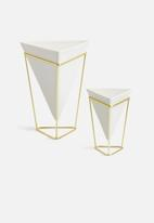 Umbra - Trigg desk vessel set of 2