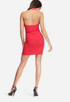 Missguided - Hoop halter bodycon dress