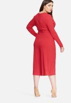 Missguided - Plus size wrap jumpsuit