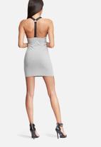 Missguided - Harness strap mini dress