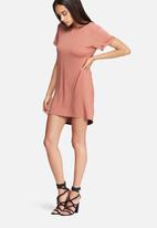 Missguided - Scoop harness dress