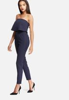 Missguided - Bandeau double layer jumpsuit