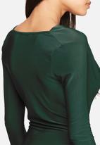 Missguided - Slinky cowl neck bodysuit