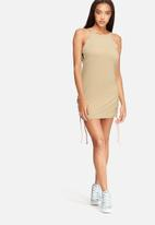 Missguided - Tie up dress