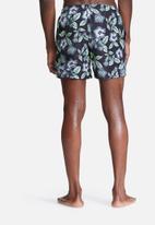 basicthread - Floral swimshort