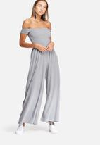 dailyfriday - Off shoulder jumpsuit