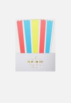 Meri Meri - Neon stripe treat boxes
