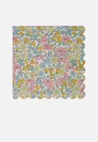 Meri Meri - Liberty poppy napkins