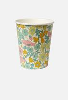 Meri Meri - Liberty poppy paper cups