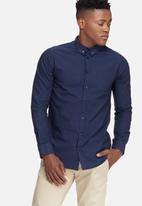 basicthread - Oxford slim fit shirt