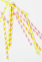 Meri Meri - Neon paper straws