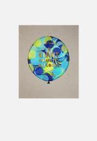 Meri Meri - Confetti blue giant balloon kit