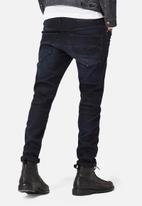 G-Star RAW - 3301 Slim Slander Superstretch - Dark Aged
