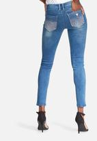 GUESS - Power skinny low jeans