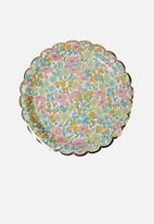 Meri Meri - Liberty poppy plates