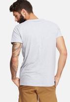 basicthread - Basic scoop neck tee - grey
