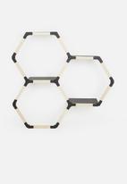Smart Shelf - Octo trio wall shelf