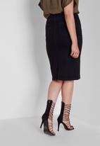 Missguided - Plus size supersoft tube skirt