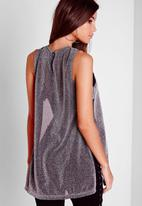Missguided - Tab Side Tunic Top
