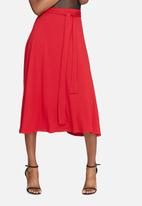 dailyfriday - Tie waist midi skirt