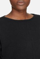 dailyfriday - Slouchy 3/4 sleeve knit