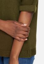 dailyfriday - Slouchy 3/4 sleeve knit