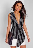 Missguided - Tie-wrap blouse
