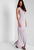 Missguided - Slinky Cut Out Maxi Dress