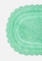 Sixth Floor - Crochet bathmat