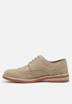 Jack & Jones - Smart nuback brogue shoes