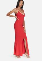 Missguided - Front strappy fishtail maxi dress