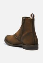 Jack & Jones - Zippy waxed suede boot