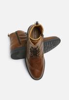 Jack & Jones - Hugh leather brogue boot