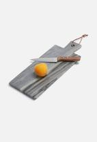 Sarah Jane - Paddle marble cheese board