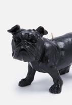 Sarah Jane - Bull dog candle