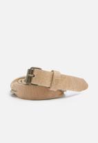 dailyfriday - Twist detail leather belt