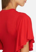 dailyfriday - Fluted sleeve bodysuit