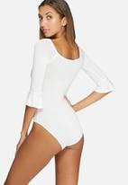 dailyfriday - Bell sleeve bodysuit