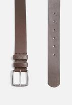 basicthread - Basic leather belt
