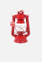 Temerity Jones - Utility red storm lamp