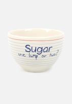 Temerity Jones - Notebook sugar bowl