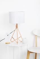 Nolden Bros - Copper table lamp