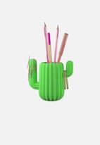 Mustard  - Cactus desktop organiser