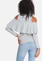 dailyfriday - Ruffle knit top